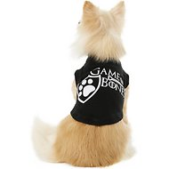 Mirage Pet Products Game of Bones Dog Shirt, X-Small, Black