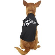 Mirage Pet Products Game of Bones Dog Shirt, Medium, Black