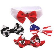 Doggie Design Dog Bow Tie Set, X-Small