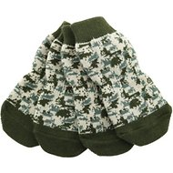 Doggie Design Non-Skid Dog Socks, Large, Camouflage