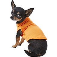 Mirage Pet Products Plain Dog & Cat Shirt, Orange, X-Small