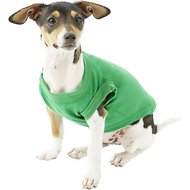 Mirage Pet Products Plain Dog & Cat Shirt, Emerald Green, X-Small