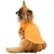 Mirage Pet Products Plain Dog & Cat Shirt, Orange, Small