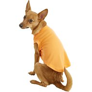 Mirage Pet Products Plain Dog & Cat Shirt, Orange, Medium