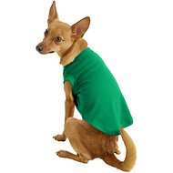 Mirage Pet Products Plain Dog Shirt, Medium, Emerald Green