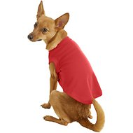 Mirage Pet Products Plain Dog & Cat Shirt, Red, Medium