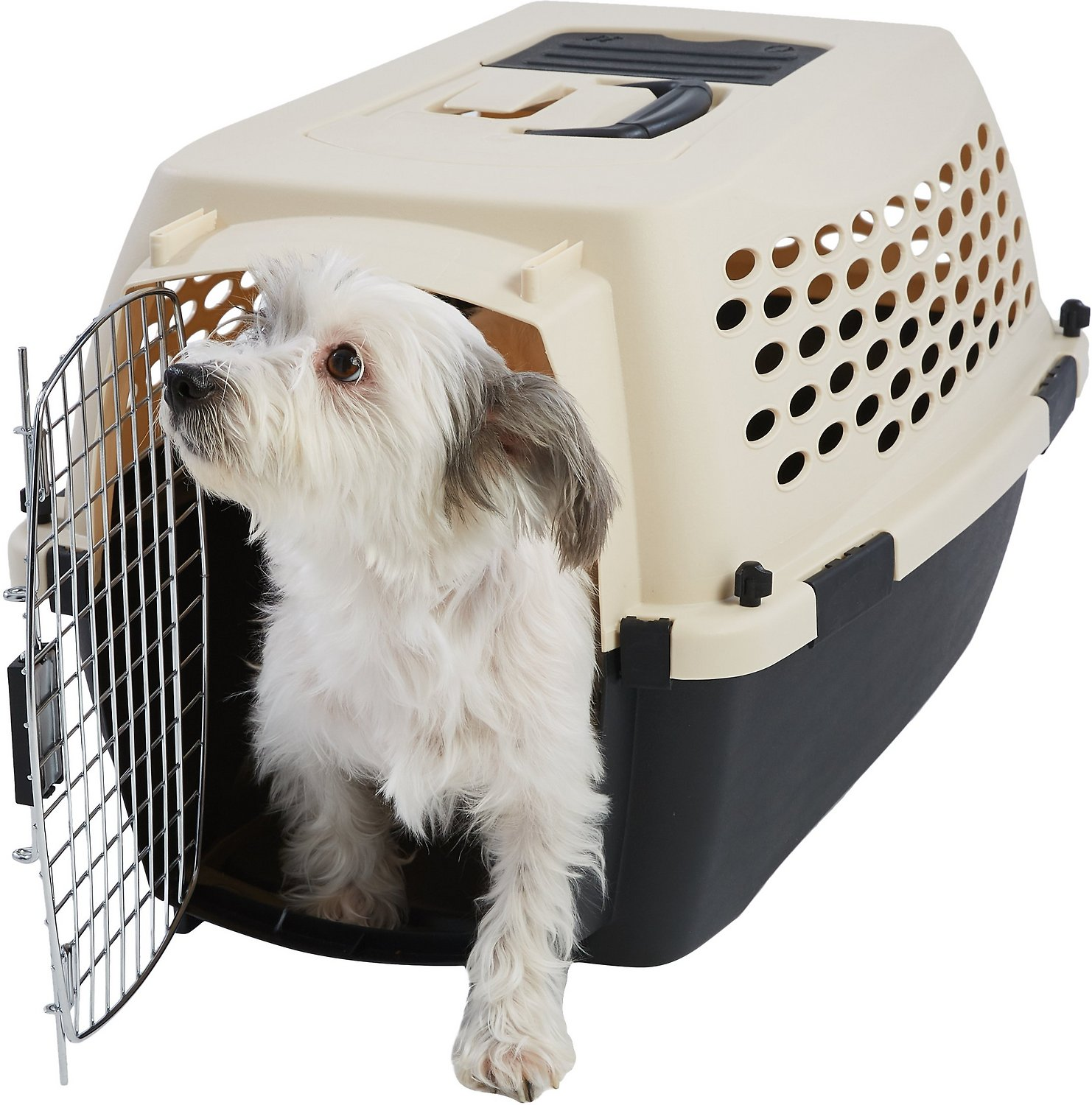 NEW Petmate Sky Kennel for Pets from 25 to 30 Pound Light Gray FREE SHIPPING