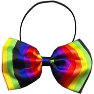 Mirage Pet Products Dog Bow Tie, Rainbow