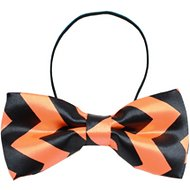 Mirage Pet Products Dog Bow Tie, Orange Chevron