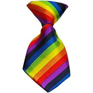 Mirage Pet Products Dog & Cat Neck Tie, Rainbow