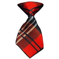 Mirage Pet Products Dog & Cat Neck Tie, Red Plaid