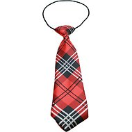 Mirage Pet Products Big Dog Neck Tie, Red Plaid