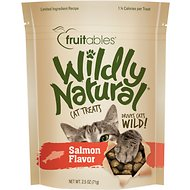 Fruitables Wildly Natural Salmon Flavor Cat Treats, 2.5-oz bag