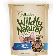 Fruitables Wildly Natural Tuna Flavor Cat Treats, 2.5-oz bag