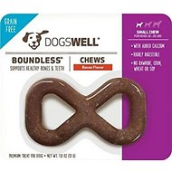 Dogswell Boundless Bacon Flavored Chew Dog Treat, Small