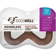 Dogswell Boundless Bacon Flavored Chew Dog Treat, Large