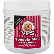 VPS SynovialMax Hip & Joint Support Soft Chew Dog Supplement, 120 count