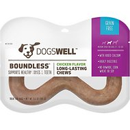 Dogswell Boundless Chicken Flavored Dog Chew, Medium