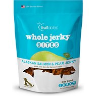 Fruitables Whole Jerky Bites Alaskan Salmon Dog Treats, 5-oz bag