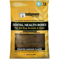 Indigenous Pet Products Roasted Chicken Grain-Free Dental Dog Treats