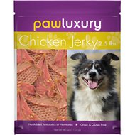 Pawluxury Chicken Jerky Dog Treats, 40-oz bag