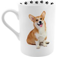 Dimension 9 Dog Breed Coffee Mug, Corgi, 8-oz