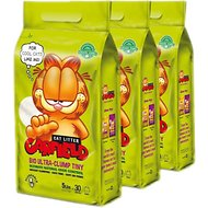 Garfield Cat Litter Tiny Grains Flushable Cat Litter, 15-lb case