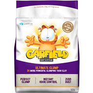 Garfield Cat Litter Ultimate Clump Flushable Cat Litter, 10-lb bag