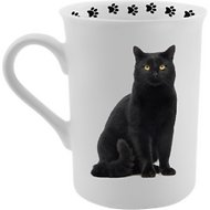 Dimension 9 Cat Breed Coffee Mug, Black Cat, 8-oz