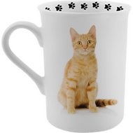 Dimension 9 Cat Breed Coffee Mug, Ginger Cat, 8-oz