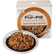 The Lazy Dog Cookie Co. Original Pup-PIE Dog Treat, Carob Peanut Butter