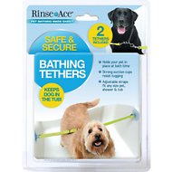 Rinse Ace Dog Bathing Tethers, 2 tethers