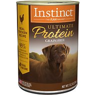 Instinct by Nature's Variety Ultimate Protein Grain-Free Cage-Free Chicken Formula Canned Dog Food, 13.2-oz, case of 6