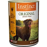 Instinct by Nature's Variety Original Grain-Free Real Chicken Recipe Natural Wet Canned Dog Food, 13.2-oz, case of 6