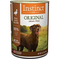 Instinct by Nature's Variety Original Grain-Free Real Duck Recipe Natural Wet Canned Dog Food, 13.2-oz, case of 6