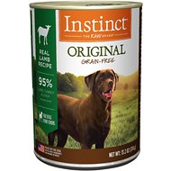Instinct by Nature's Variety Original Grain-Free Real Lamb Recipe Canned Dog Food, 13.2-oz, case of 6