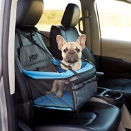 HDP Deluxe Lookout Dog, Cat & Small Animal Booster Car Seat, Blue