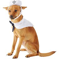Pet Krewe Small Dog & Cat & Cat Sailor Costume