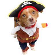Pet Krewe Pirate Dog Costume, Medium