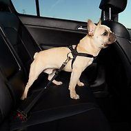 HDP Car Dog Harness & Safety Seat Belt Travel Gear, Black, Small