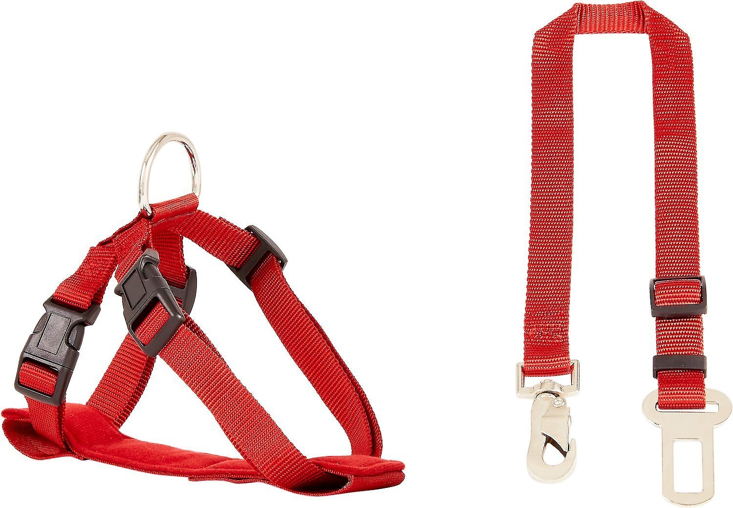 Hdp car dog harness safety seat belt travel gear red small for Travel gear car