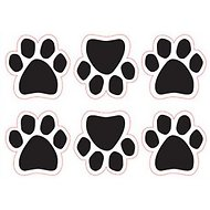 Magnetic Pedigrees Mini Paw Magnet, 6 Count