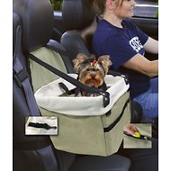 Etna Dog & Cat Car Booster Seat, Tan