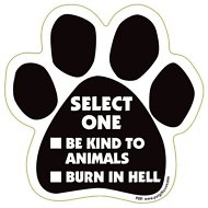 "Magnetic Pedigrees ""Select One"" Paw Magnet"