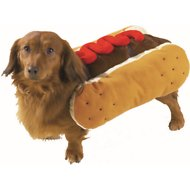 Casual Canine Hot Diggity Ketchup Dog Costume, Large