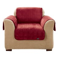 Sure Fit Deluxe Chair Cover, Burgundy