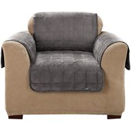 Sure Fit Deluxe Chair Cover, Gray