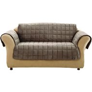 Sure Fit Deluxe Loveseat Cover, Sable