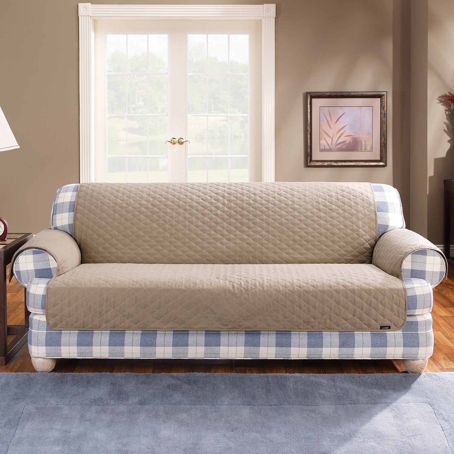 Sure Fit Furniture Friend Sofa Cover Linen Chewy