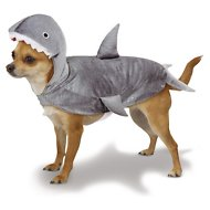 Casual Canine Shark Dog Costume, X-Small